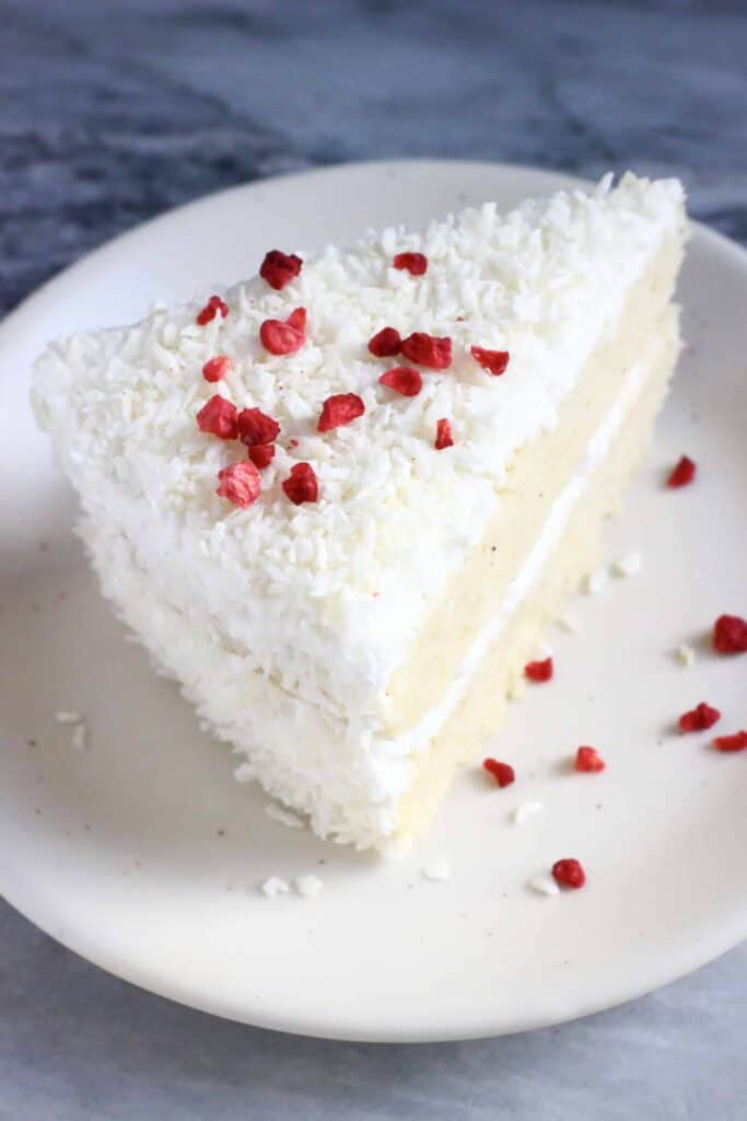 Gluten-Free Vegan Coconut Cake