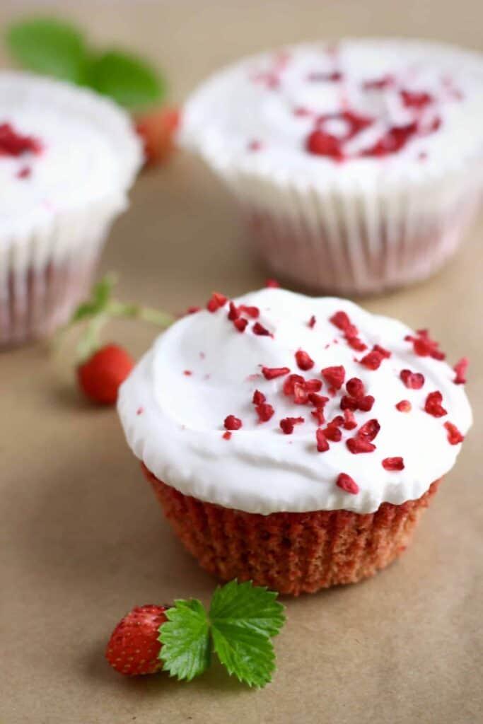 Gluten-Free Vegan Red Velvet Cupcakes