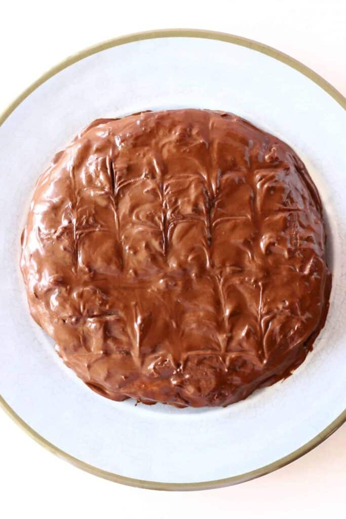 Gluten-Free Vegan Jaffa Cake