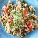 Vegan Mushroom Rice (GF)