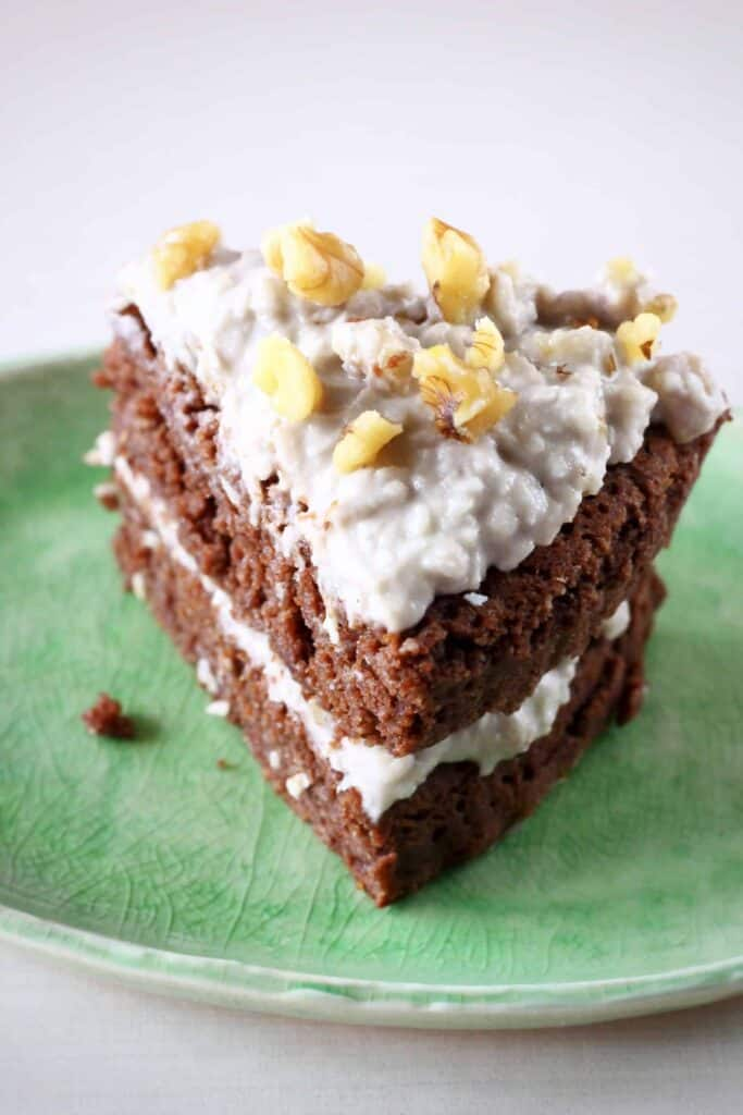 Gluten-Free Vegan German Chocolate Cake