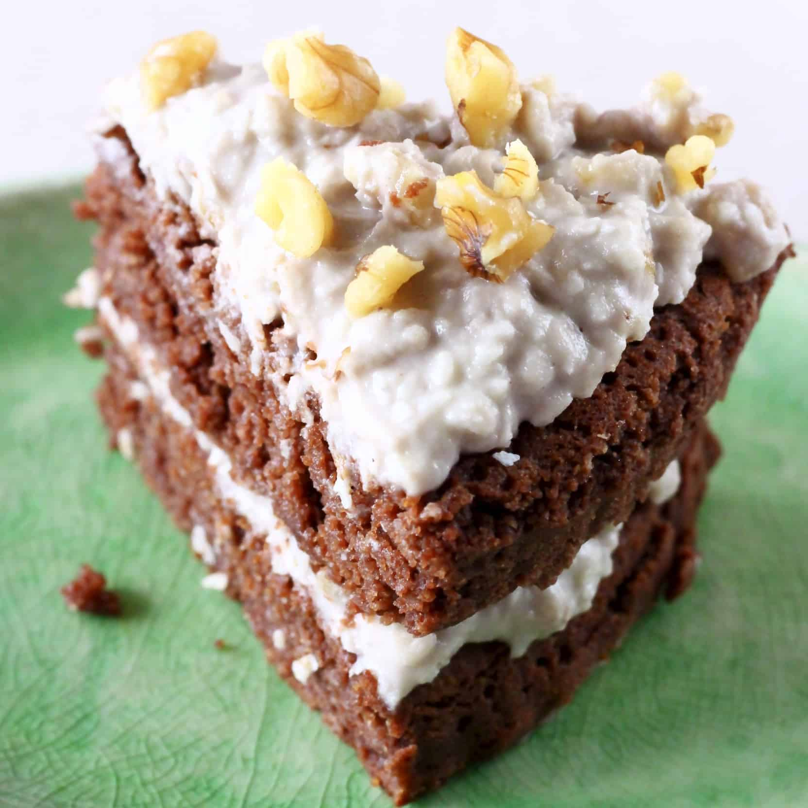 Gluten-Free Vegan German Chocolate Cake