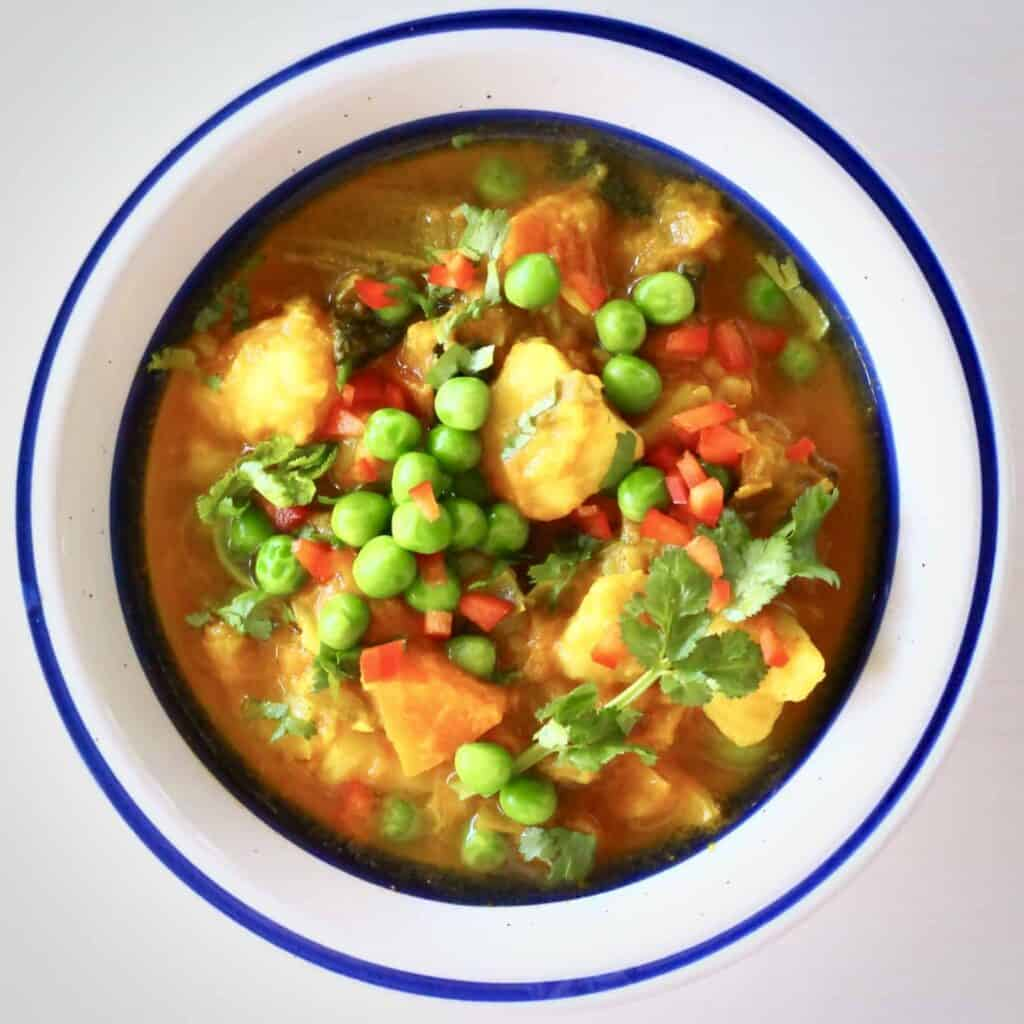 Potato Pea Curry (Vegan + GF)