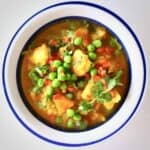 Potato Pea Curry (Vegan + GF)