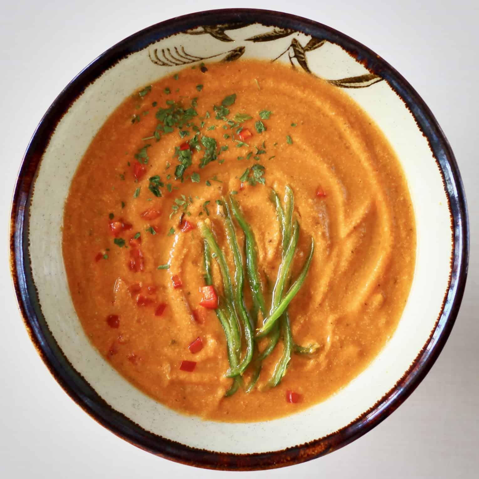 Creamy Vegan Tomato Soup (GF)