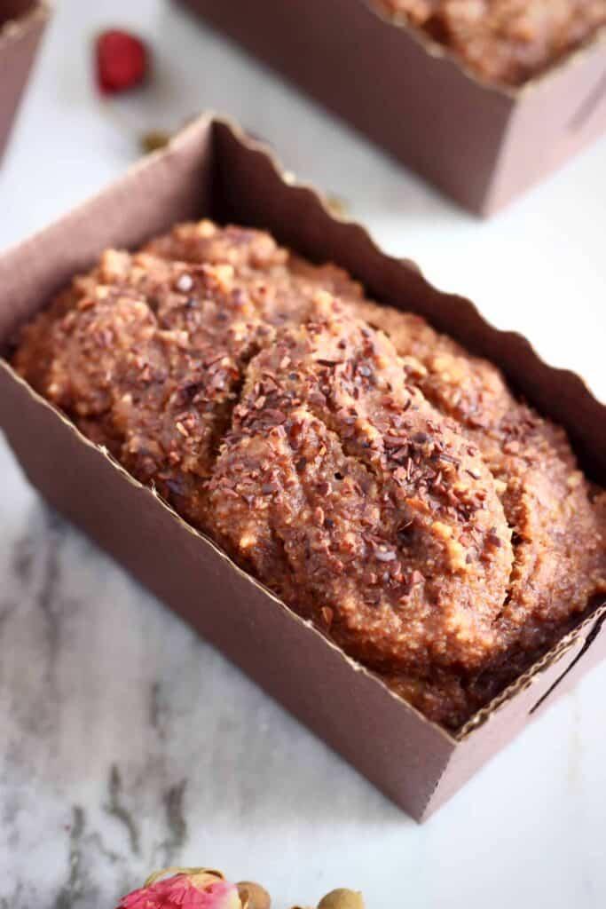 Gluten-Free Vegan Chocolate Banana Bread