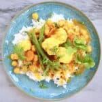 Vegan Chickpea Korma Curry (GF)