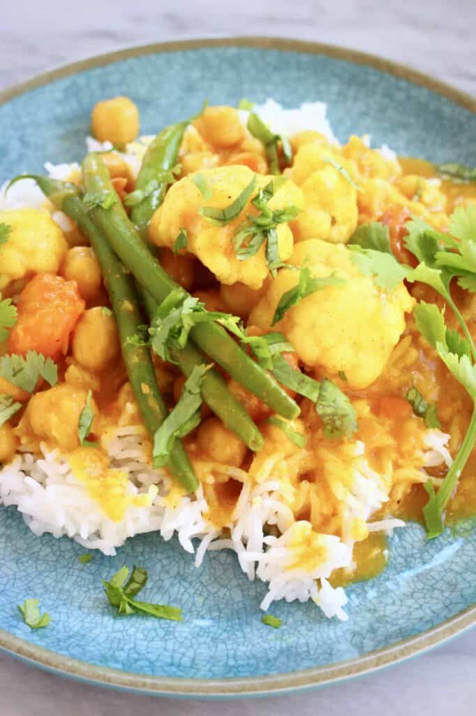 Vegan Chickpea Korma Curry (GF)