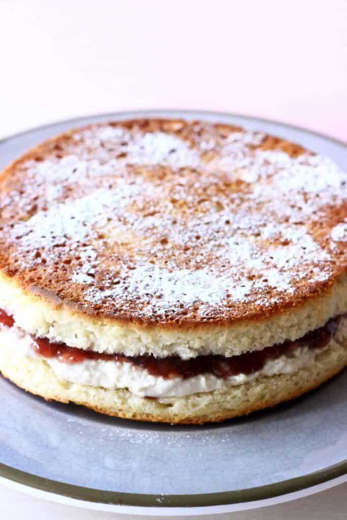 Gluten Free Cherry Bakewell Cake