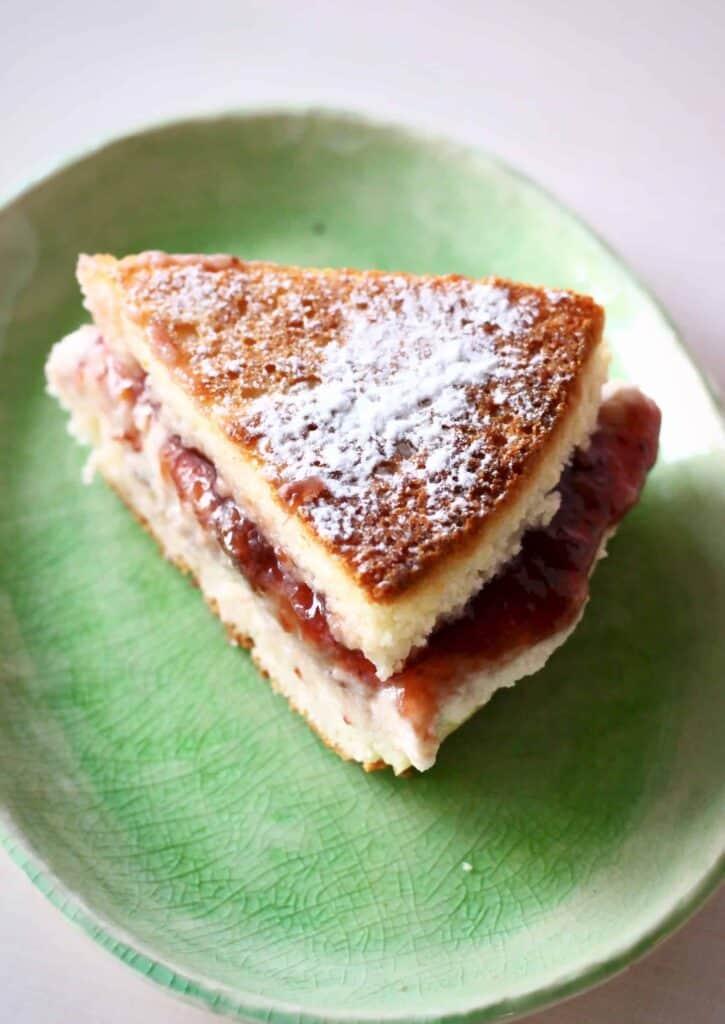 Sponge Cake With Sweetener Recipe