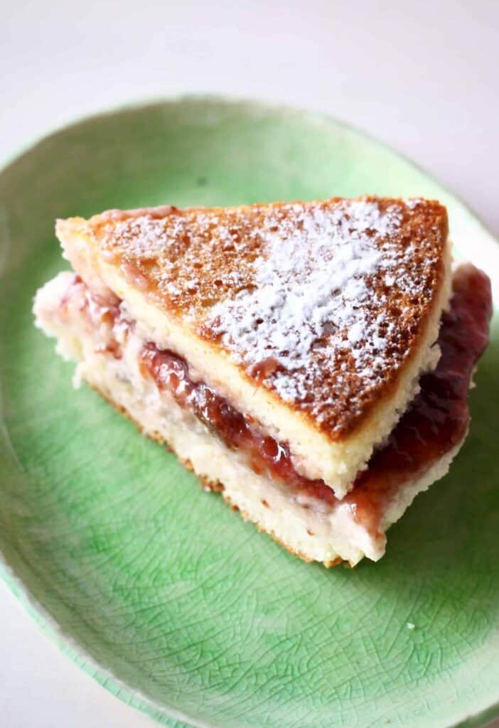 Gluten-Free Vegan Victoria Sponge Cake