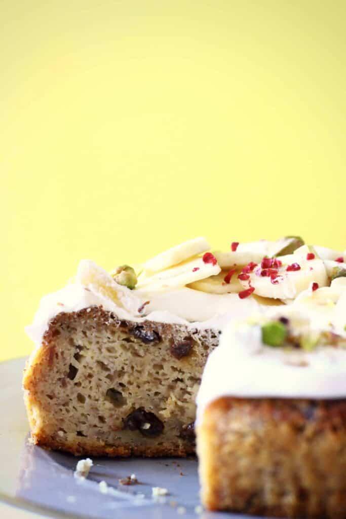 Gluten-Free Vegan Banana Cake