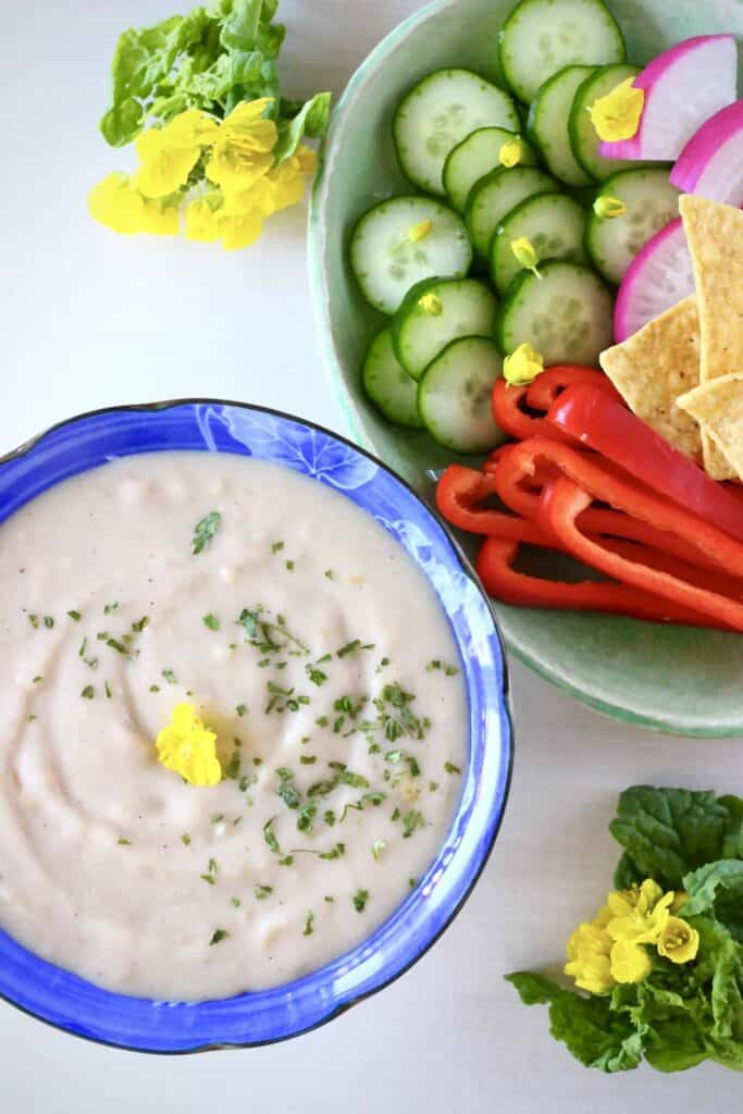 Vegan French Onion Dip (GF)