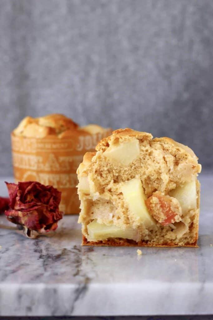 Gluten-Free Vegan Apple Muffins