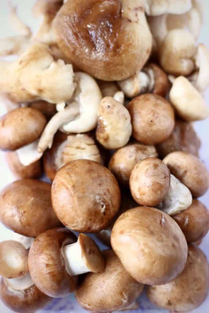 Vegan Mushroom Stroganoff (GF)