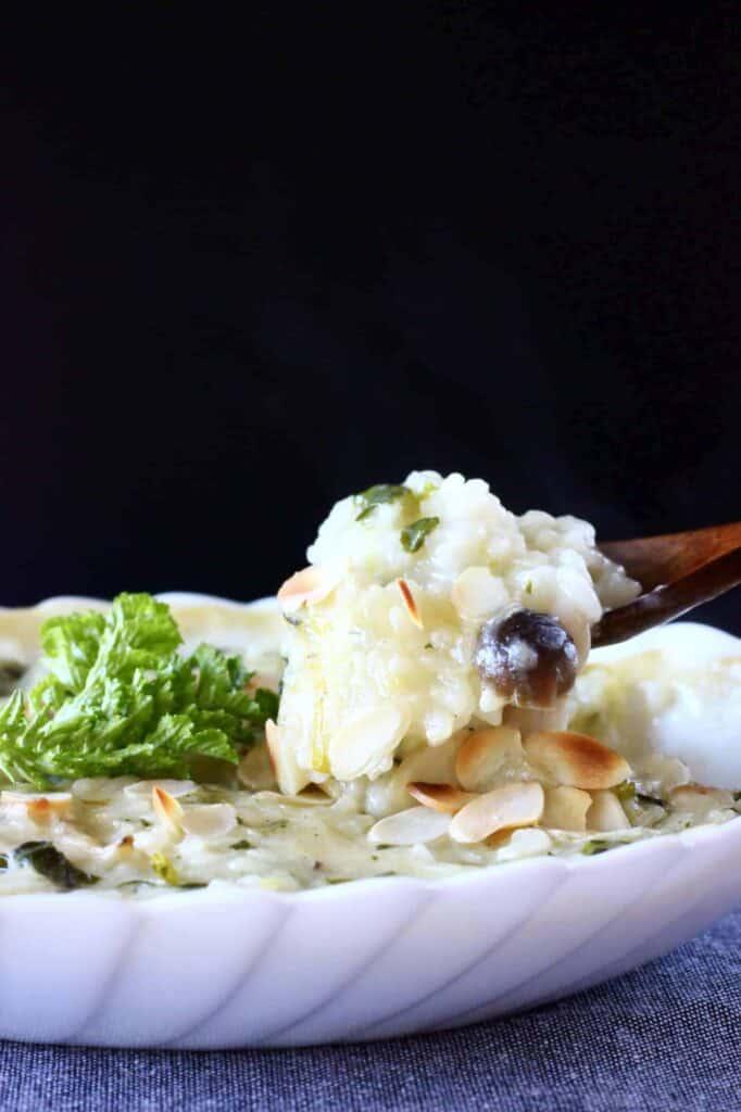Vegan Rice Casserole (GF)