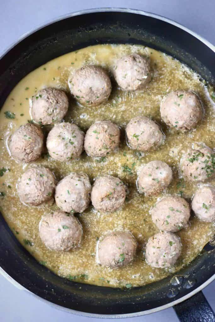 Vegan Ikea Meatballs (GF)