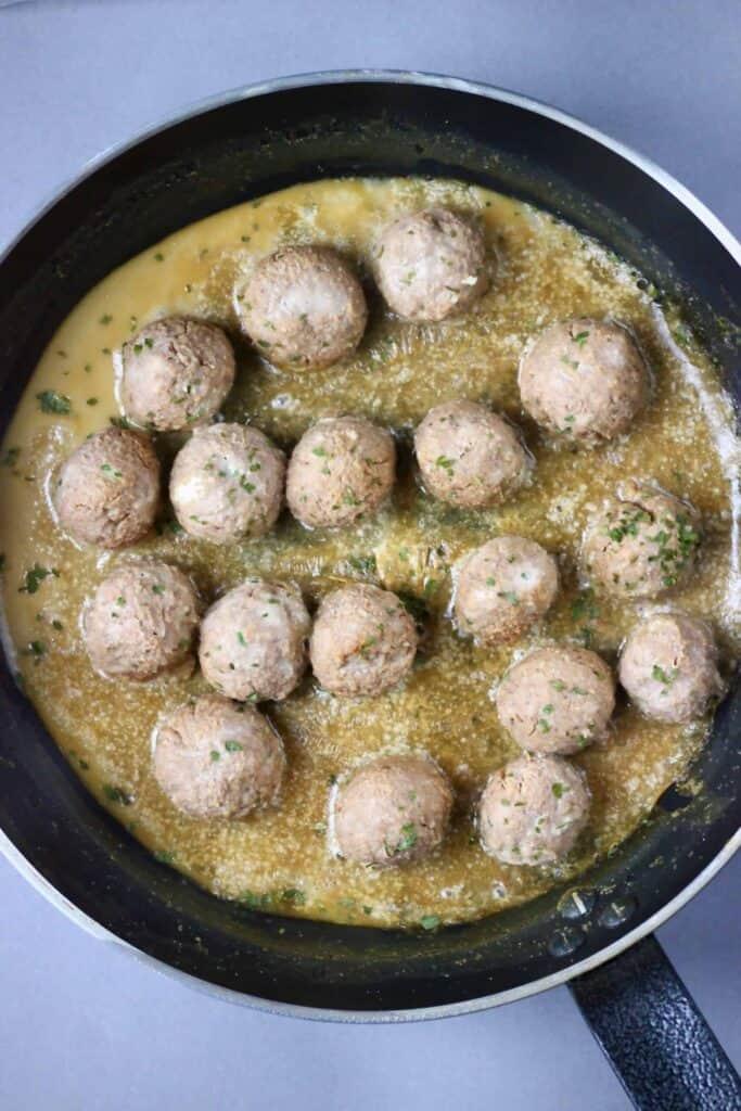 Vegan Swedish Meatballs (GF)