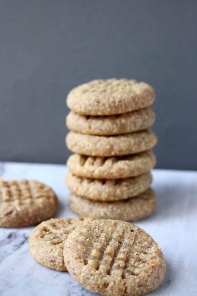 Gluten-Free Vegan Peanut Butter Cookies