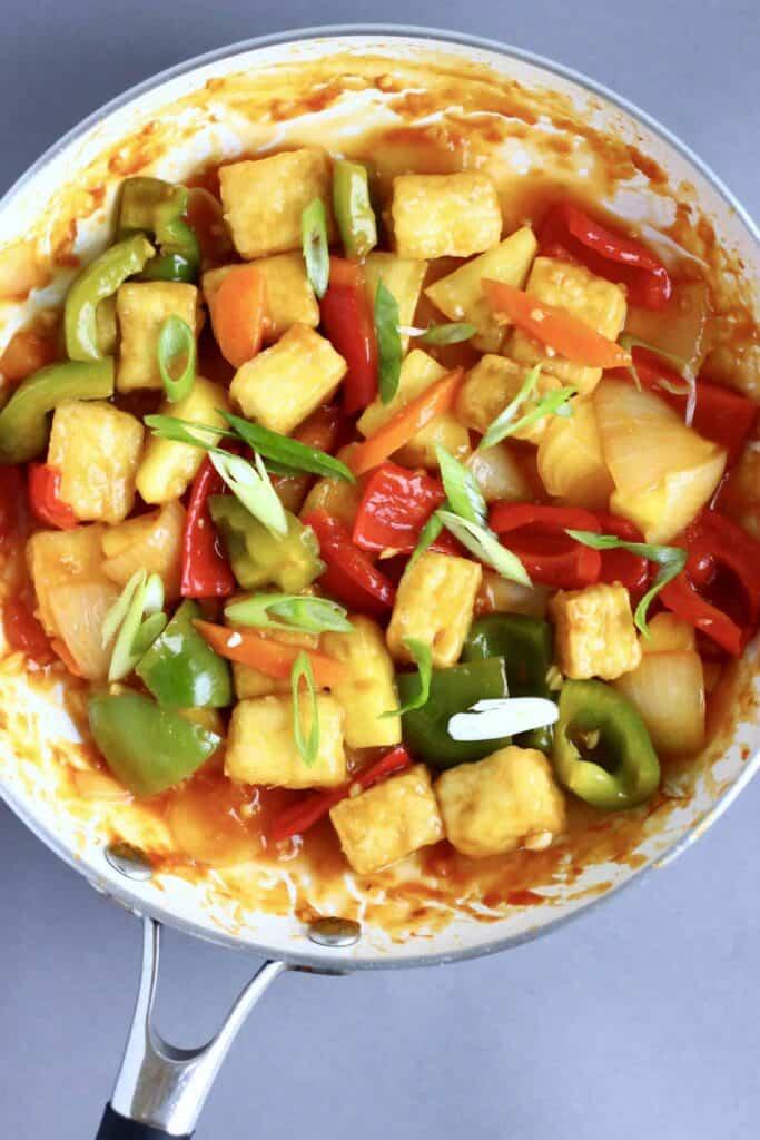 Vegan Sweet and Sour Tofu (GF)