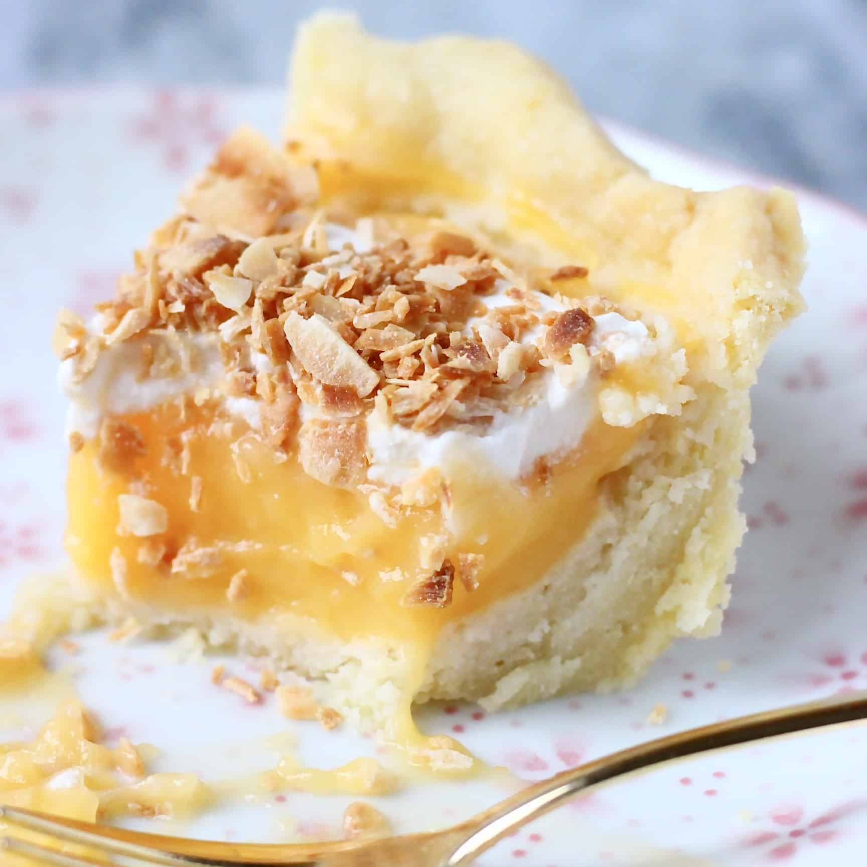 Gluten-Free Vegan Lemon Pie