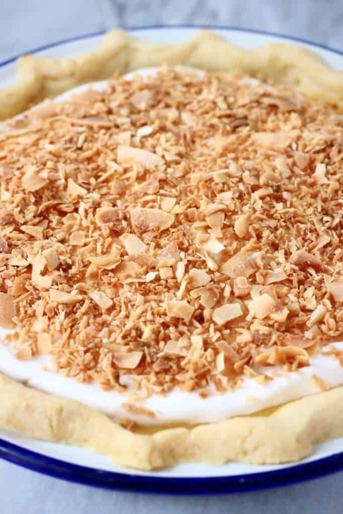 Gluten-Free Vegan Coconut Cream Pie