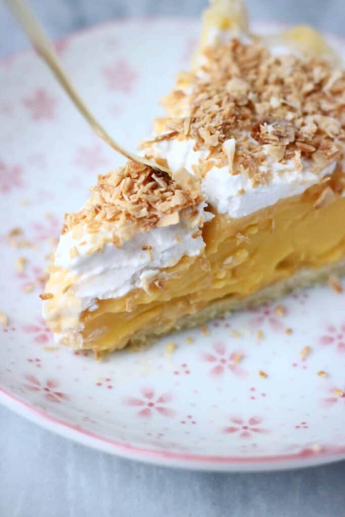 Gluten Free Vegan Coconut Cream Pie Rhian S Recipes