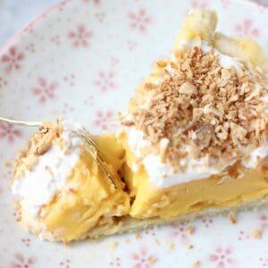 Gluten-Free Vegan Coconut Cream Pie
