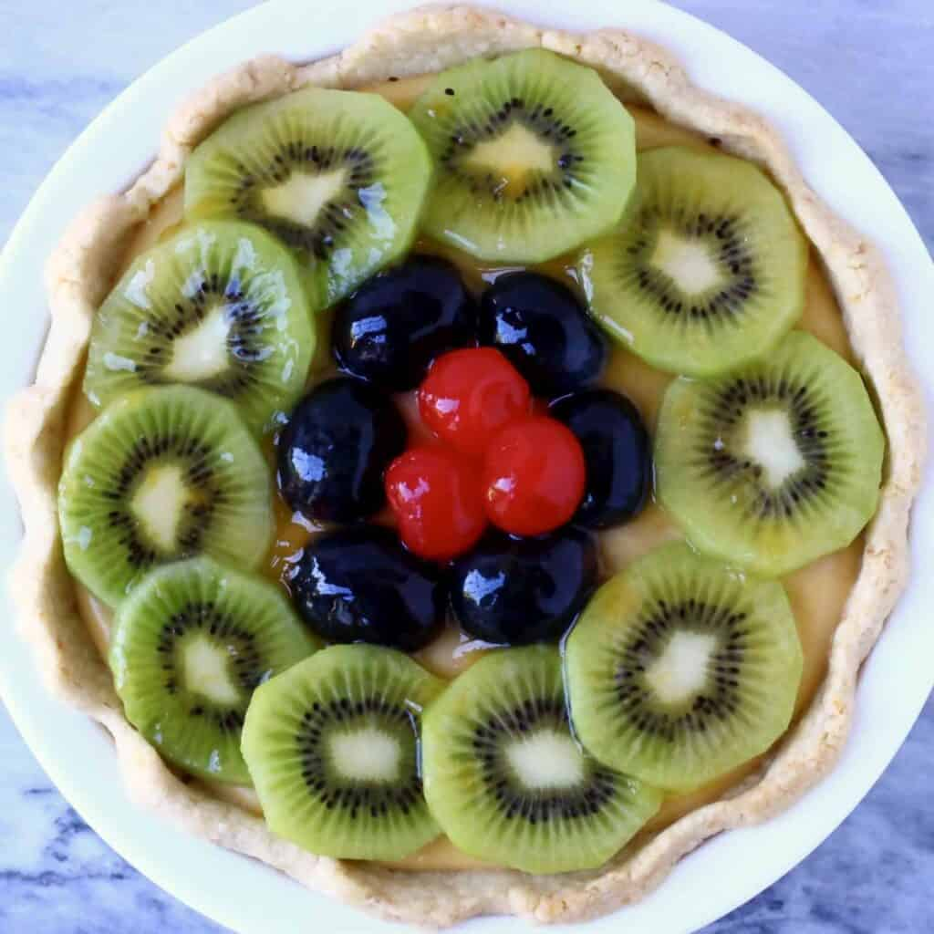 Gluten-Free Vegan Fruit Tart