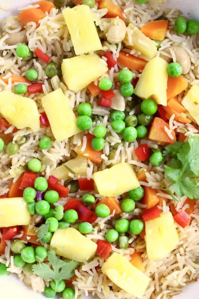 One-Pot Vegan Pineapple Fried Rice (GF)