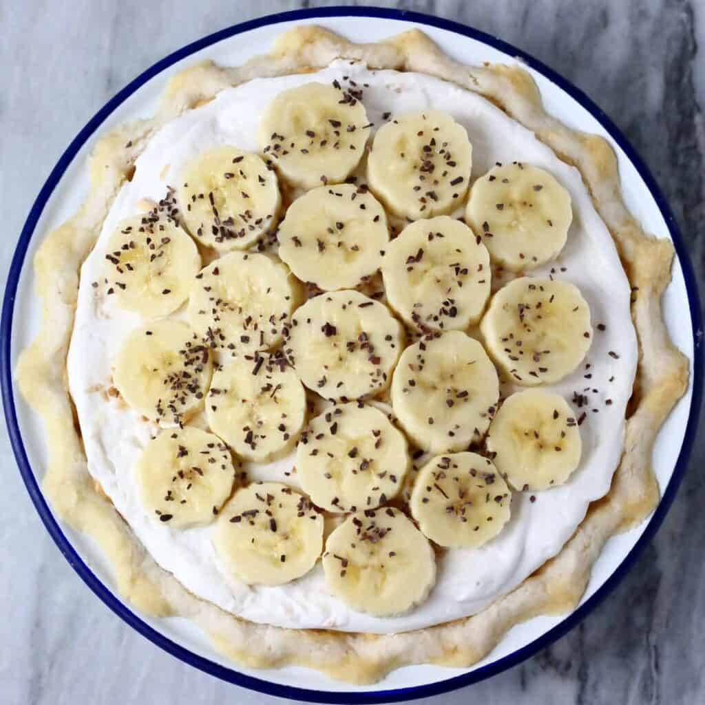 Gluten-Free Vegan Banana Cream Pie