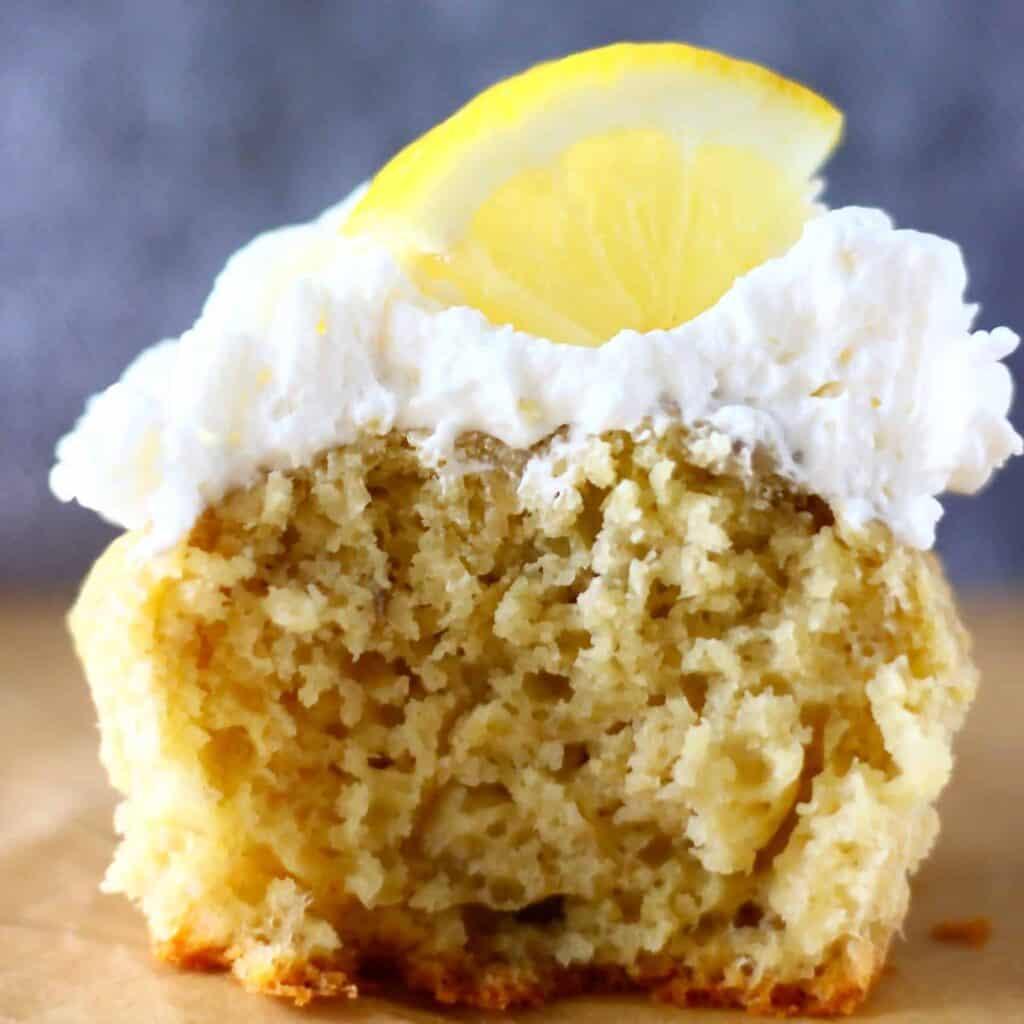 Gluten-Free Vegan Lemon Cupcakes