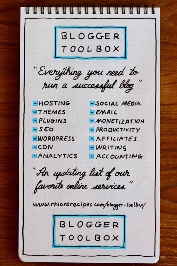 Blogger Toolbox