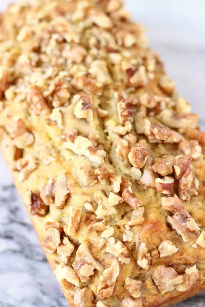 Gluten-Free Vegan Banana Walnut Bread