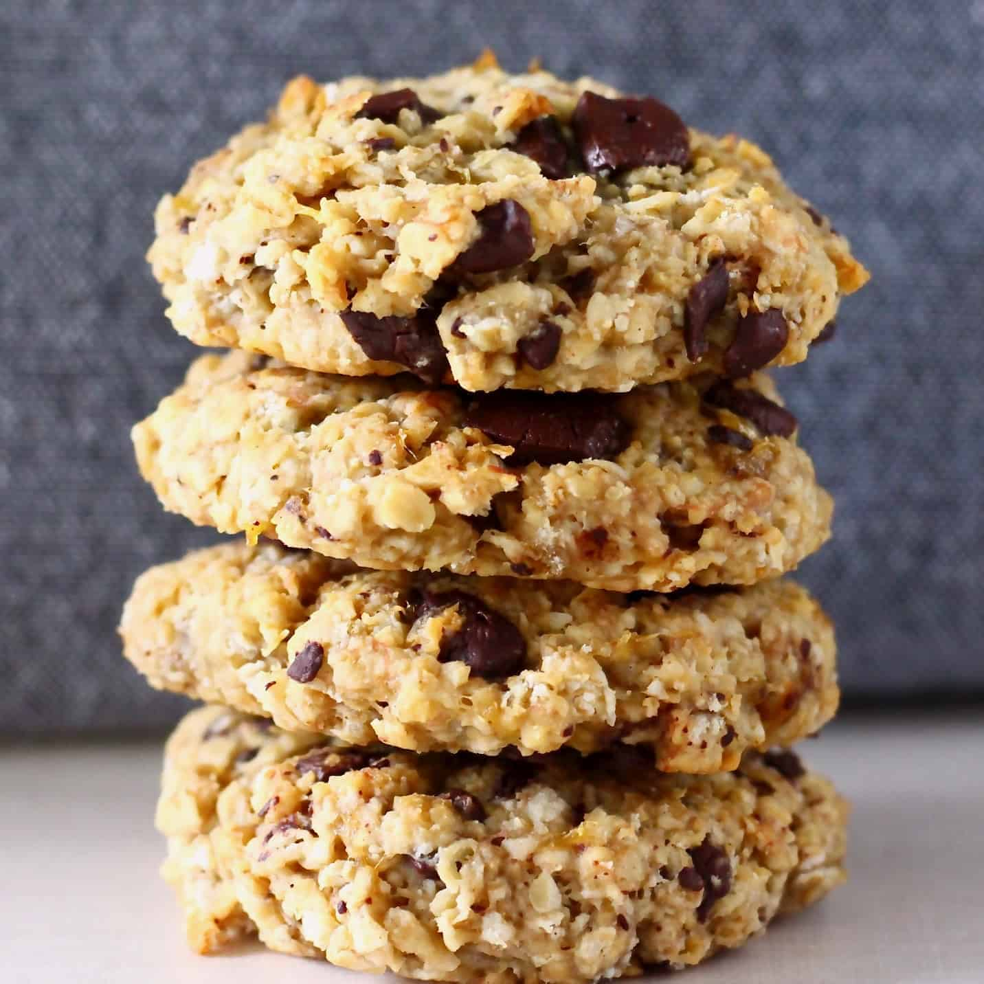 Gluten Free Vegan Banana Oatmeal Cookies Rhians Recipes
