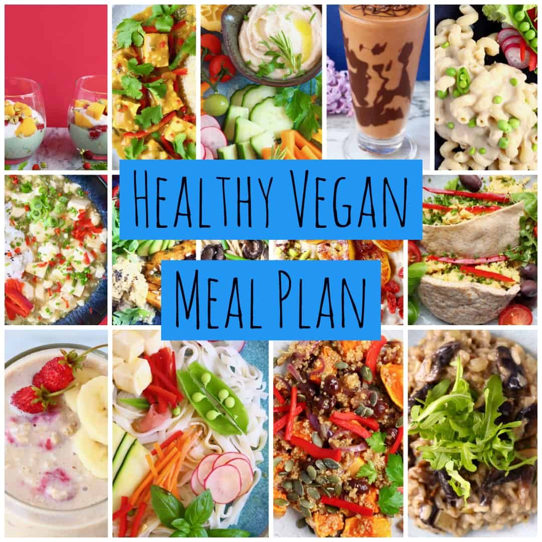 healthy vegan meal plan