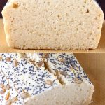 A collage of two rice bread recipes