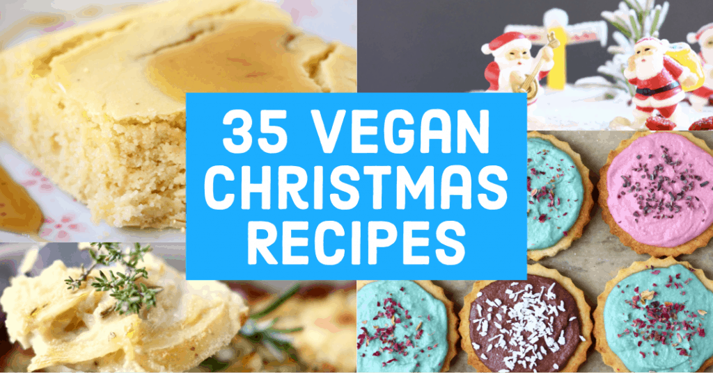 Cover of 35 Vegan Christmas Recipes book