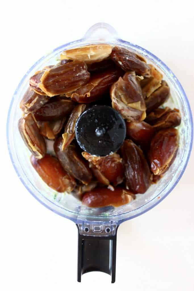 Dates in a food processor