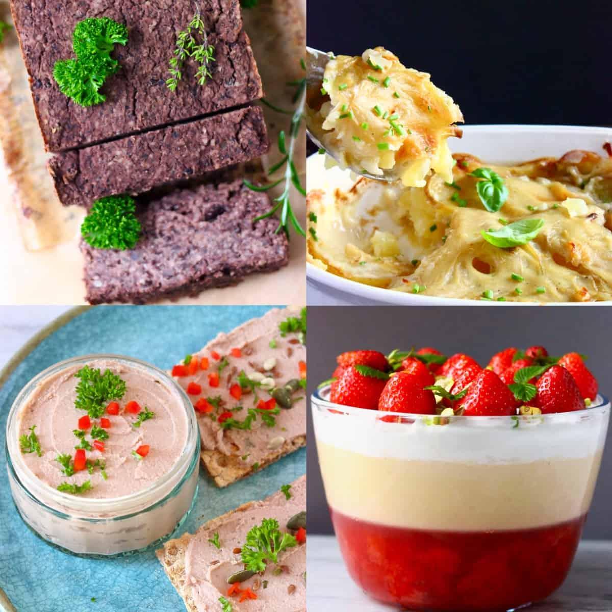 Budget-friendly vegan Christmas dinner menus photo