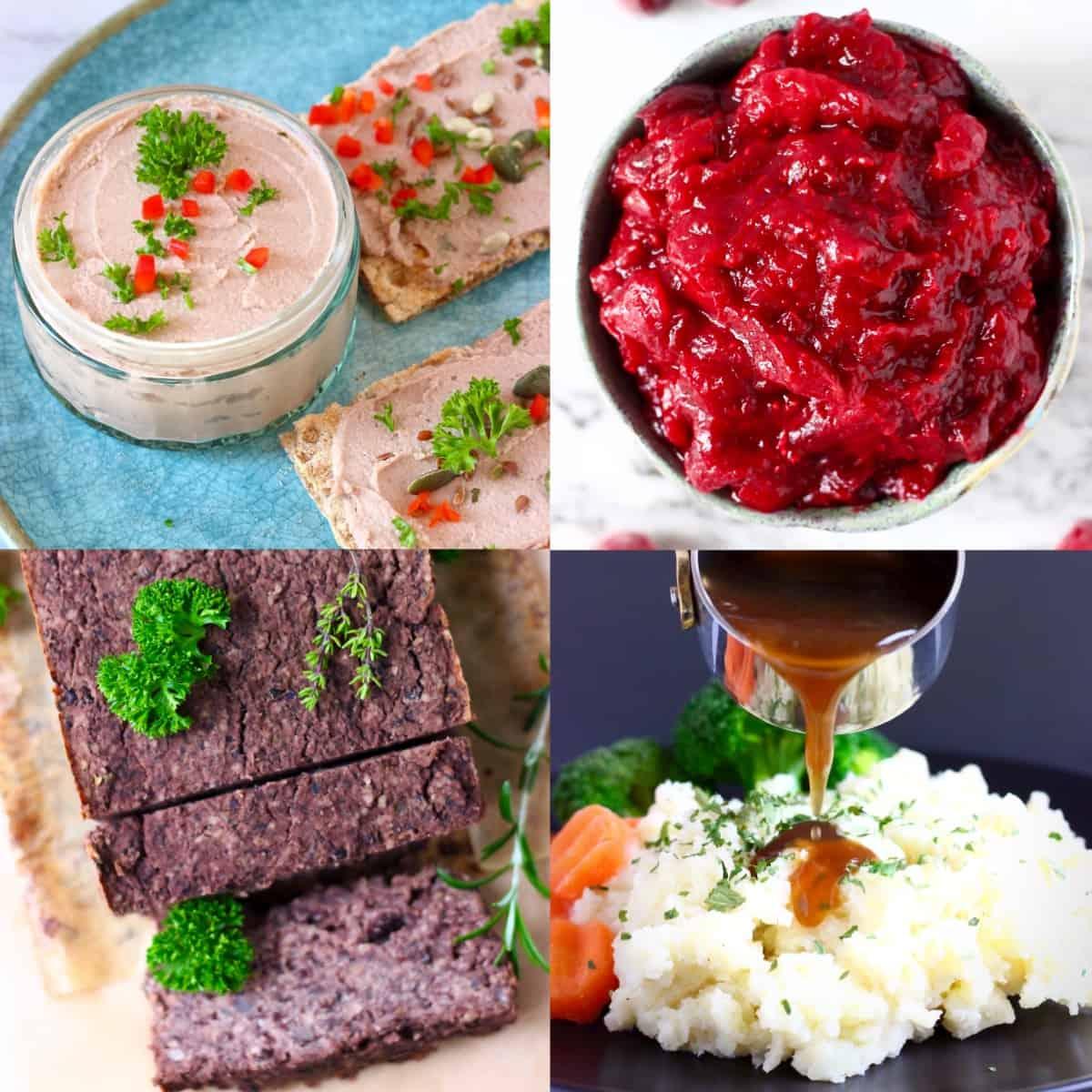 Easy vegan Christmas dinner menus photo
