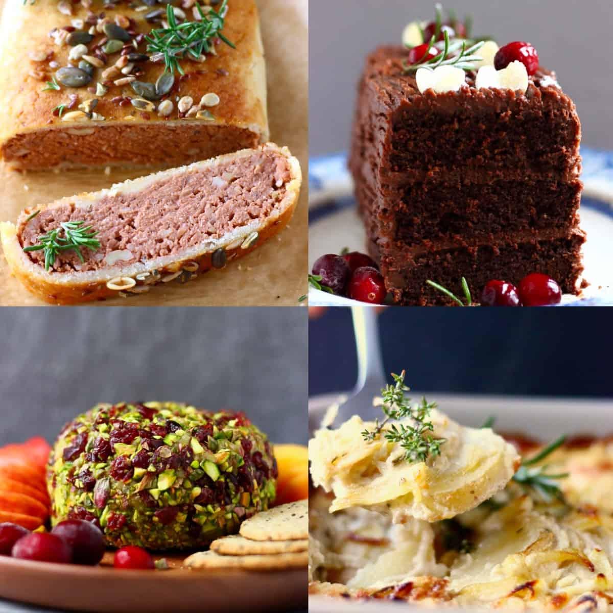 Impressive vegan Christmas dinner menus photo