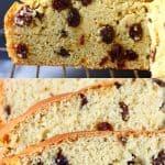 A collage of two Gluten-Free Vegan Irish Soda Bread photos