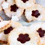 A collage of two Gluten-Free Vegan Linzer Cookies photos